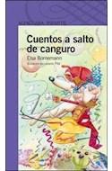 Papel CUENTOS A SALTO DE CANGURO (SERIE VIOLETA) (8 AÑOS)