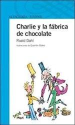 Papel Charlie Y La Fabrica De Chocolate - Azul