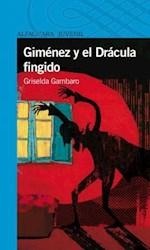 Papel Gimenez Y El Dracula Fingido - Azul