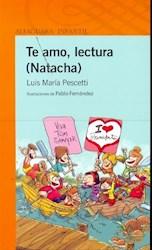 Papel Te Amo Lectura (Natacha) - Naranja