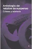 Papel CRIMEN Y MISTERIO ANTOLOGIA DE RELATOS DE SUSPENSO (SERIE ROJA) (RUSTICA)
