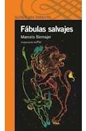 Papel FABULAS SALVAJES (SERIE AZUL) (12 AÑOS)