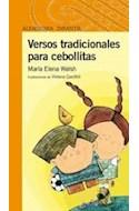 Papel VERSOS TRADICIONALES PARA CEBOLLITAS (SERIE NARANJA) (+10 AÑOS) (RUSTICA)