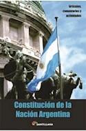 Papel CONSTITUCION DE LA NACION ARGENTINA (ARTICULOS COMENTARIOS Y ACTIVIDADES) (RUSTICA)