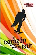 Papel CORAZON A VECES PARA DE LATIR (RUSTICO)
