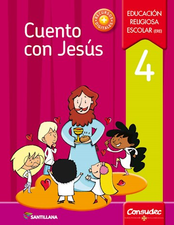 Papel Cuento Con Jesús 4 Educación Religiosa Escolar (Ere)  2017