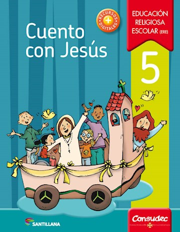 Papel Cuento Con Jesús 5 Educación Religiosa Escolar (Ere)  2017