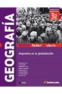 Papel GEOGRAFIA ARGENTINA EN LA GLOBALIZACION SANTILLANA NUEVO SABERES CLAVE (ES 5 AÑO) (NOVEDAD 2017)