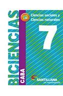 Papel BICIENCIAS 7 SANTILLANA EN MOVIMIENTO (CABA) (CIENCIAS SOCIALES / CIENCIAS NATURALES) (NOVEDAD 2018)