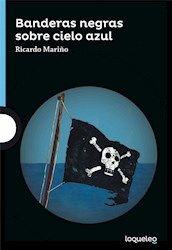 Papel Banderas Negras Sobre Cielo Azul