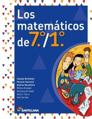 Papel Los Matemáticos De 7 Y 1 Nov.2018