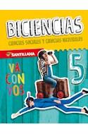 Papel BICIENCIAS 5 SANTILLANA VA CON VOS NACION (NOVEDAD 2019)