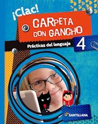 Papel Lengua 4 Clac - Carpeta Con Gancho