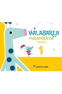 Papel MALABARES MATEMATICOS 1 SANTILLANA (ANILLADO) (NOVEDAD 2019)