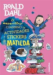 Papel Maravilloso Cuaderno De Actividades Y Stickers De Matilda, El