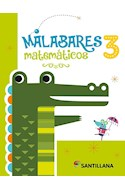 Papel MALABARES MATEMATICOS 3 SANTILLANA (ANILLADO) (NOVEDAD 2019)