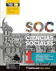 Libro Ciencias Sociales 1 Santillana Vale Saber