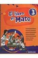 Papel LIBRO DE MATE 3 SANTILLANA (ANILLADO) (NOVEDAD 2020)
