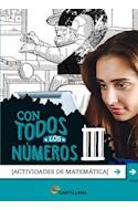 Papel CON TODOS LOS NUMEROS III SANTILLANA (ACTIVIDADES DE MATEMATICA) (NOVEDAD 2020)