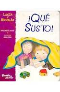 Papel QUE SUSTO (LUCIA Y NICOLAS)
