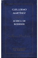 Papel ACERCA DE RODERER (CARTONE)