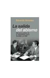 Papel SALIDA DEL ABISMO MEMORIA POLITICA DE LA NEGOCIACION EN