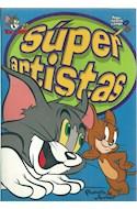 Papel SUPER ARTISTAS (PEGA RECORTA Y JUEGA)