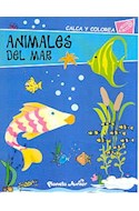 Papel ANIMALES DE MAR (CALCA Y COLOREA)