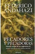 Papel PECADORES Y PECADORAS HISTORIA SEXUAL DE LOS ARGENTINOS III