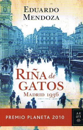 Papel Riña De Gatos. Madrid 1936