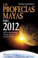 Papel PROFECIAS MAYAS PARA 2012 EL FIN DEL MUNDO O UNA NUEVA  OPORTUNIDAD