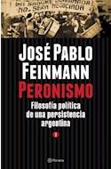 Papel PERONISMO TOMO 2 FILOSOFIA POLITICA DE UNA PERSISTENCIA ARGENTINA (RUSTICA)