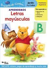 Papel Winnie The Pooh Aprendemos Letras Mayúsculas