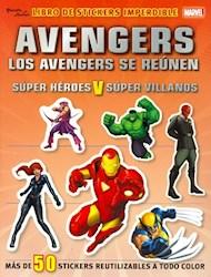 Papel Avengers Libro De Stickers