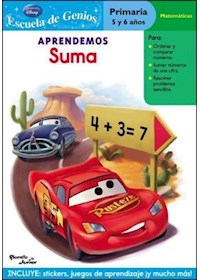 Papel Aprendemos Suma- Cars