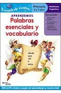 Papel APRENDEMOS PALABRAS ESENCIALES Y VOCABULARIO (DISNEY HA DAS) (PRIMARIA 6 Y 7 AÑOS)