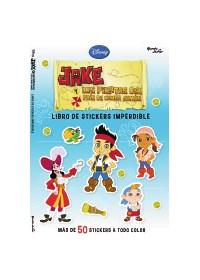 Papel Jake Y Los Piratas Del Pais Del Nunca Jamás- Stickers