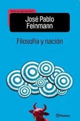 Libro Filosofia Y Nacion