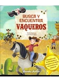 Papel Busca Y Encuentra- Vaqueros