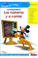 Papel APRENDEMOS LOS NUMEROS Y A CONTAR JARDIN 4 Y 5 AÑOS (ES  CUELA DE GENIOS) (DISNEY JUNIOR)