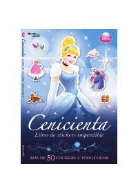 Papel Cenicienta- Libro De Stickers Imperdible