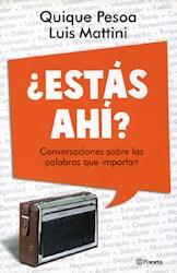 Libro Estas Ahi ?