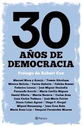 Libro 30 Años De Democracia
