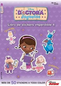 Papel Doctora Juguetes 4-Libro De Stickers