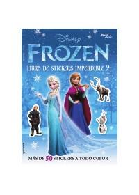 Papel Frozen - Libro De Stickers