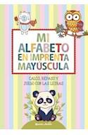 Papel MI ALFABETO EN IMPRENTA MAYUSCULA CALCO REPASO Y JUEGO  CON LAS LETRAS
