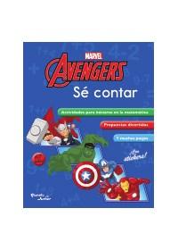 Papel Escuela De Genios. Sé Contar. Avengers