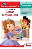 Papel APRENDEMOS LETRAS MAYUSCULAS (ESCUELA DE GENIOS) (LENGU A PREESCOLAR 4-5 AÑOS)