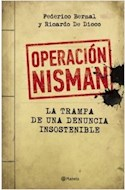 Papel OPERACION NISMAN LA TRAMPA DE UNA DENUNCIA INSOSTENIBLE
