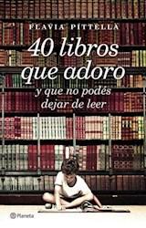 Libro 40 Libros Que Adoro